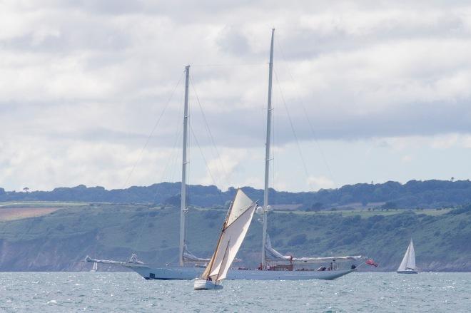 Falmouth kallar sig, som så många andra orter på sydkusten, för Englands seglarmecka.